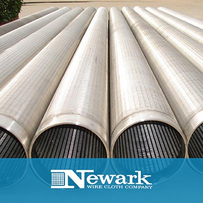 New Screen Wrapped Laterals & Underdrains from Newark Wire Cloth