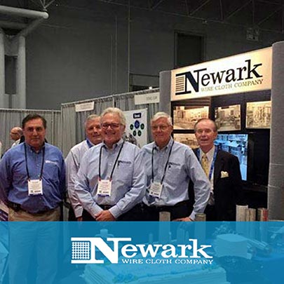 Newark Wire Cloth Company and its Sani-Filtration Division Celebrate 105th Anniversary at Interphex