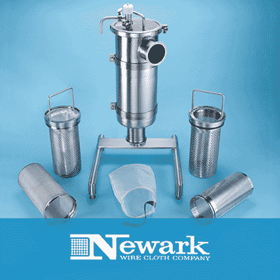 Newark Wire Cloth Sanitary Strainers