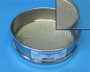 Pure Tin Soldered Test Sieve
