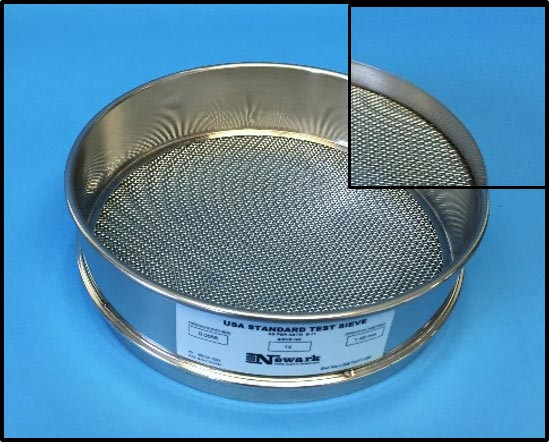 Welded Test Sieve