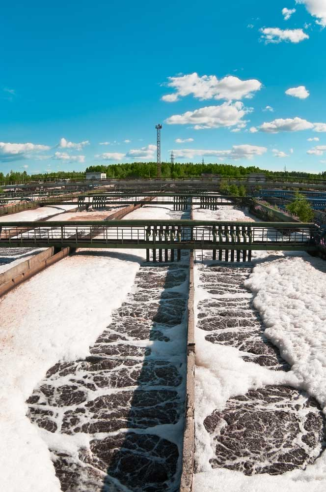 Wastewater treatment industry.