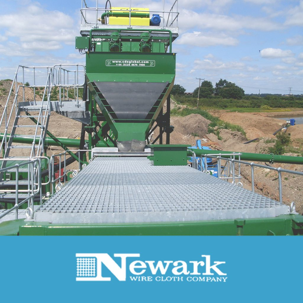 Coal dewatering screens