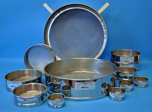 Test Sieves Certified