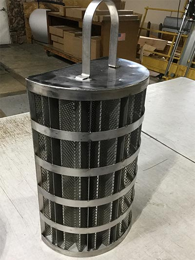 Pleated Vent Screen