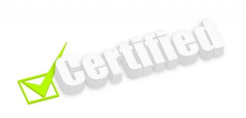 3D Certified