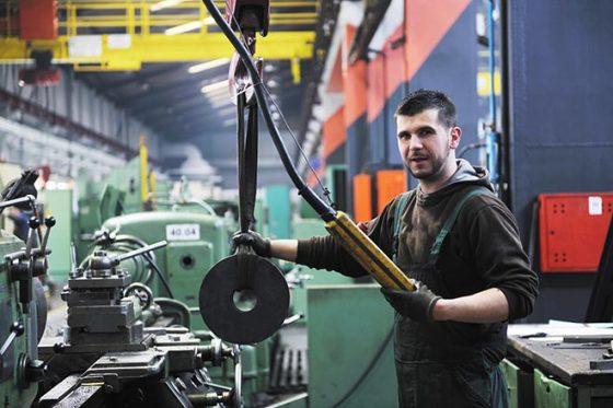 Wire Mesh Basket - Industrial Worker
