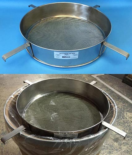 Test Sieve with 4 brackets