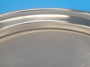 200 mm Air Jet Test Sieve – close up showing crevice free interior side wall of sieve